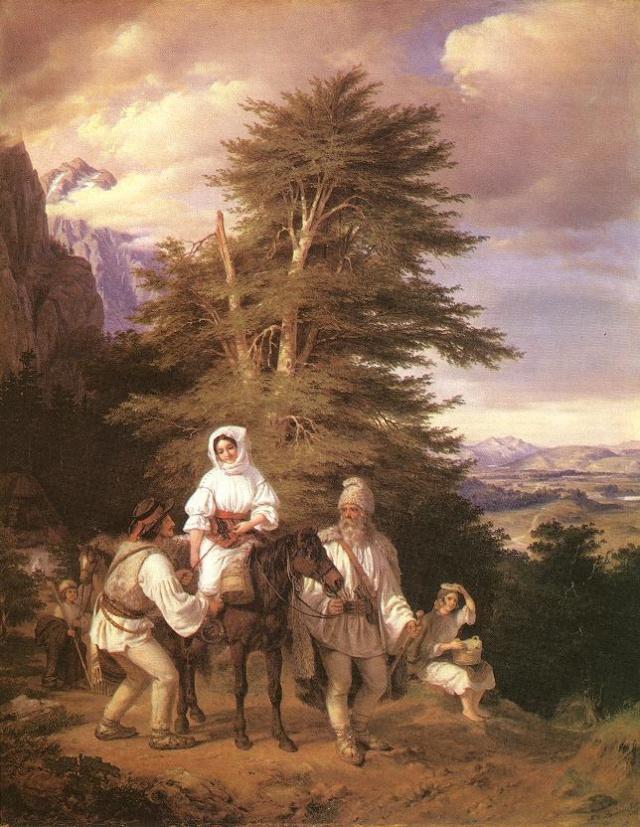 Paysages, tableaux. Rumani10