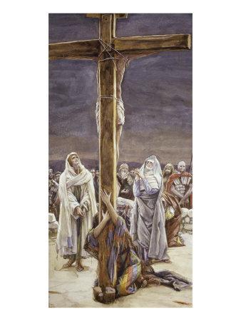 La Passion du Christ selon le peintre Tissot. Stabat10