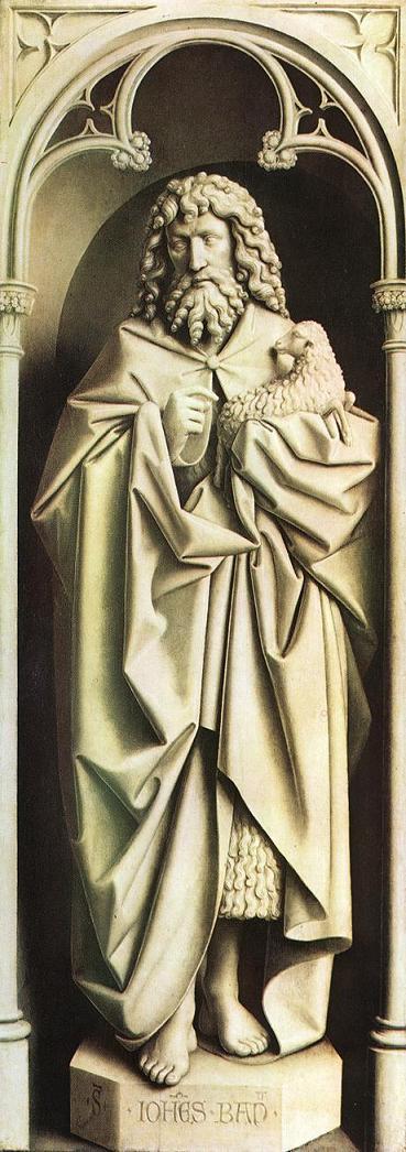 FÊTE DE SAINT JEAN BAPTISTE Statue11