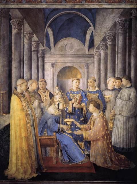 FRA ANGELICO -- Extrait des PAGES D'ART CHRÉTIEN du Père Abel Fabre. Stpete10