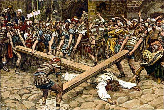 La Passion du Christ selon le peintre Tissot. Tissot13