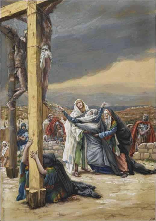 La Passion du Christ selon le peintre Tissot. Tissot15