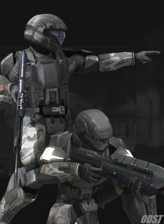 The Orbital Deep Strike Team (ODST) Halo3_10