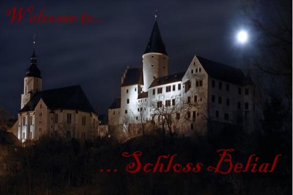 Belial-Castle in the moonlight