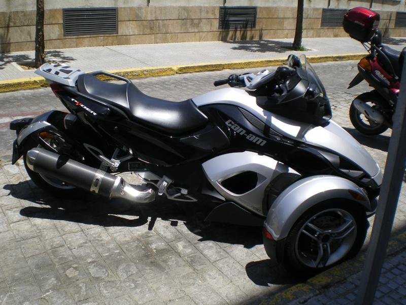 Moto à trois roues. Andalo20