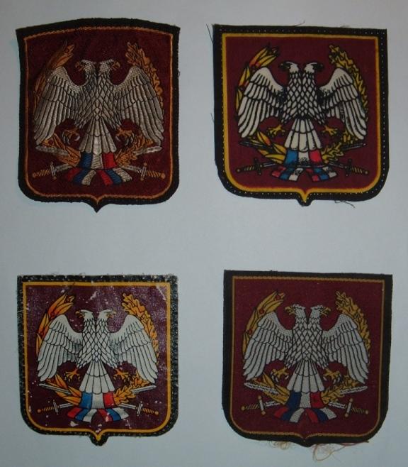Vojska Jugoslavia patches Dscf1613