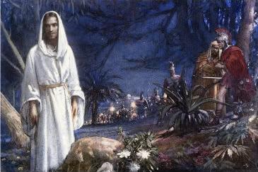 Jesucristo ora en el  getsemani Gethse12
