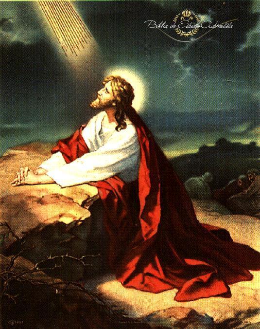 Jesucristo ora en el  getsemani Gethse15