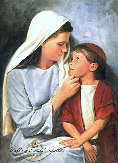 La virgen Maria y Jesus Imagen29