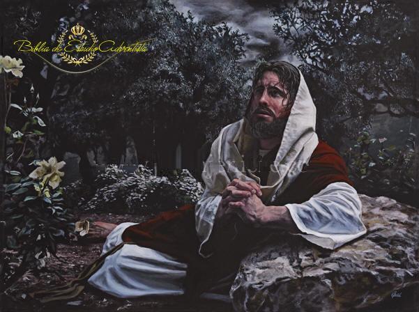Jesucristo ora en el  getsemani Jesucr15