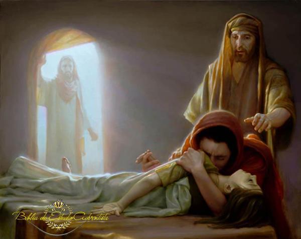 Jesus resucita a una niña Jesus_49