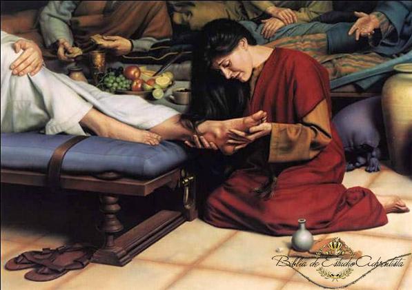 Jesus es ungido por una mujer pecadora Jesus_50