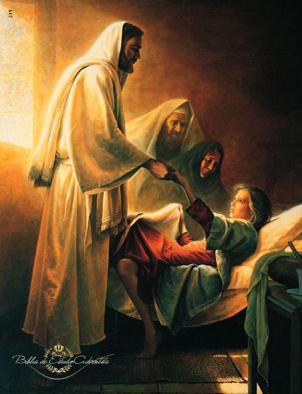 Jesus resucita a una niña Jesus_54