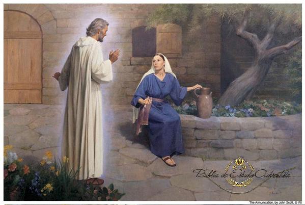 La Anunciación: El ángel Gabriel se aparece a María La_anu10