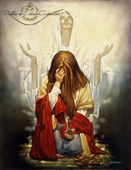 Perdonado ante la cruz de Cristo Perdon15