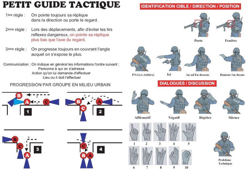 Stratégie et déplacement tactique. Guidep10