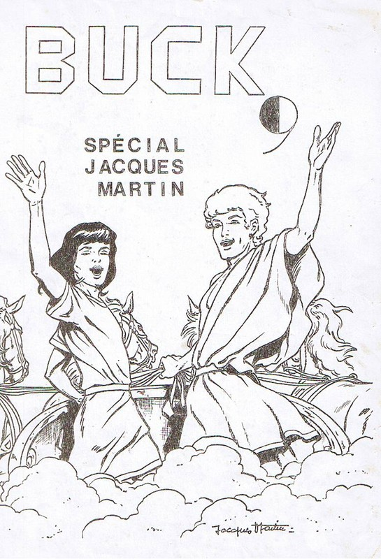 Interview, fanzines et articles divers sur Jacques Martin - Page 2 0110