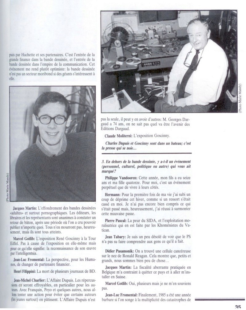 Interview, fanzines et articles divers sur Jacques Martin - Page 2 0215