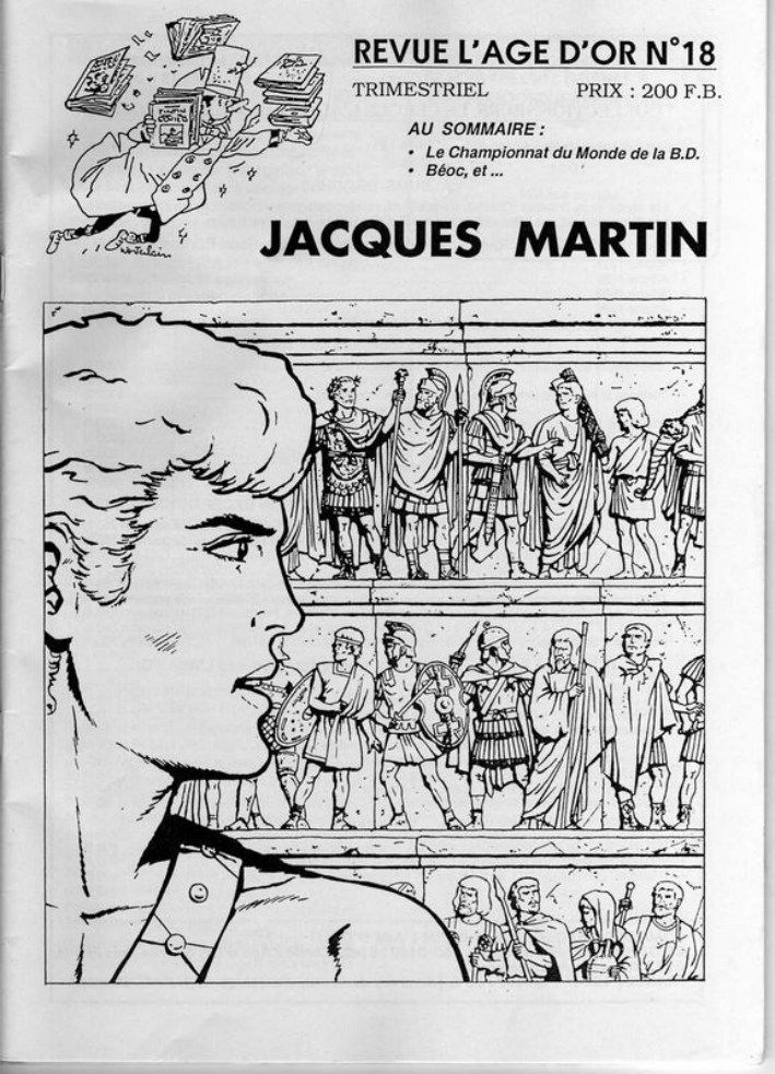 Interview, fanzines et articles divers sur Jacques Martin - Page 2 0313