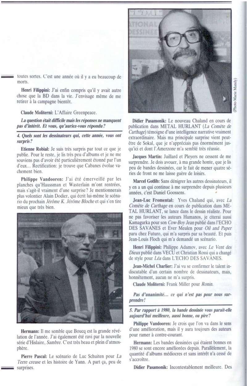 Interview, fanzines et articles divers sur Jacques Martin - Page 2 0316