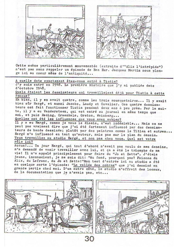 Interview, fanzines et articles divers sur Jacques Martin - Page 2 0410