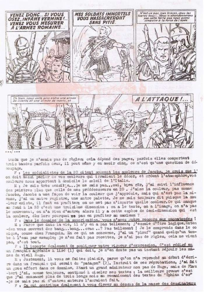 Interview, fanzines et articles divers sur Jacques Martin - Page 2 0415