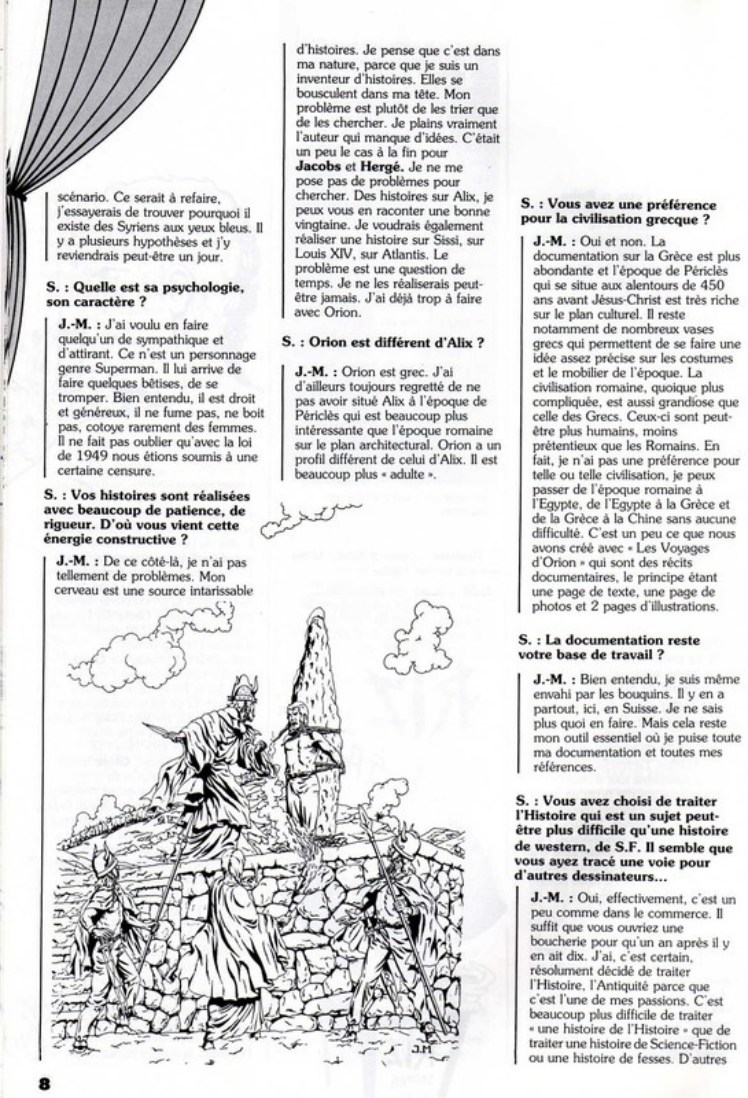 Interview, fanzines et articles divers sur Jacques Martin - Page 2 0511