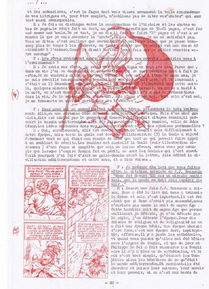 Interview, fanzines et articles divers sur Jacques Martin - Page 2 0514