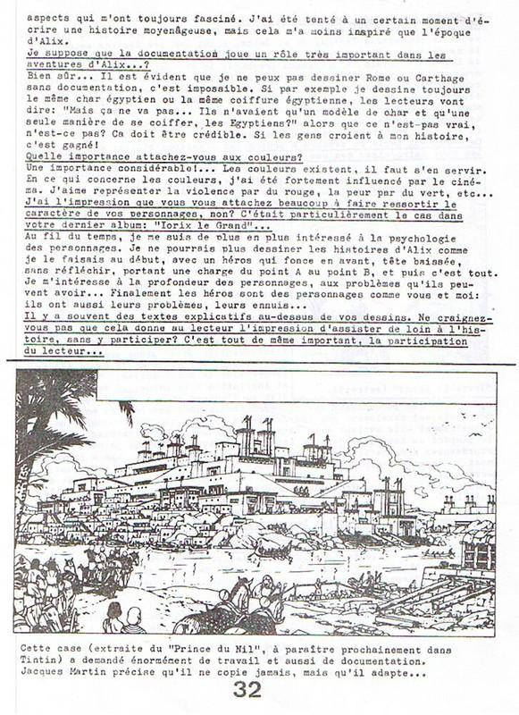 Interview, fanzines et articles divers sur Jacques Martin - Page 2 0610