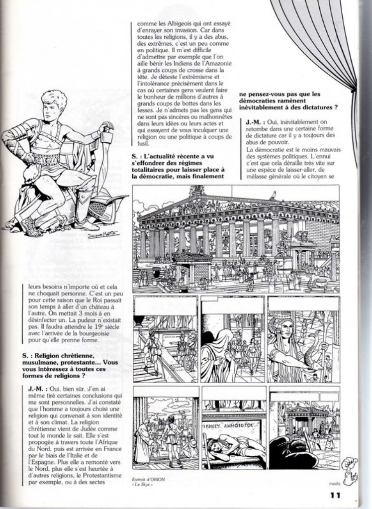 Interview, fanzines et articles divers sur Jacques Martin - Page 2 0811