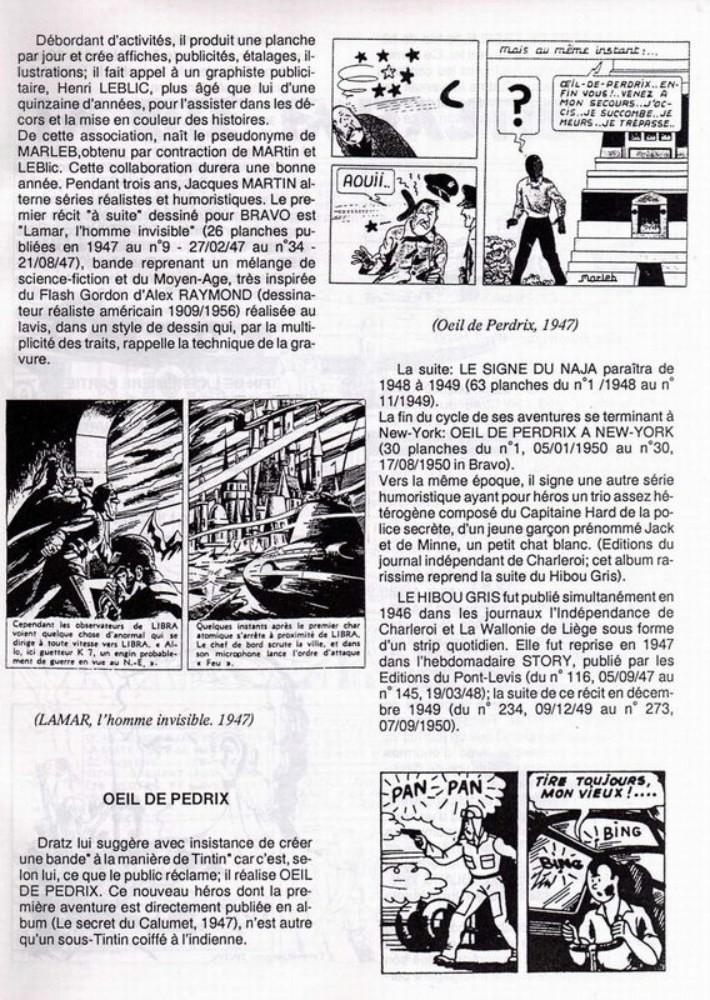 Interview, fanzines et articles divers sur Jacques Martin - Page 2 0812