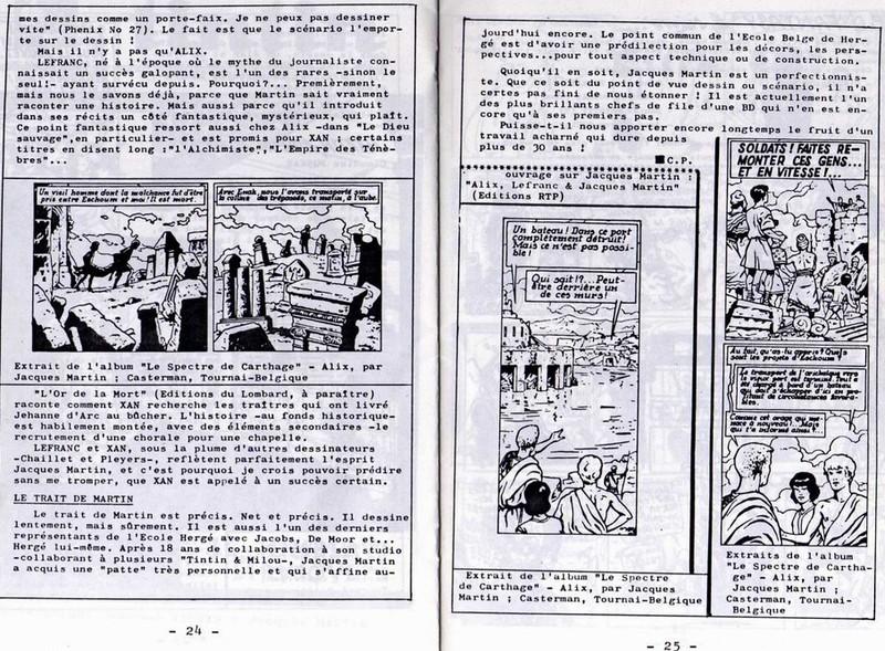 Interview, fanzines et articles divers sur Jacques Martin - Page 2 1112