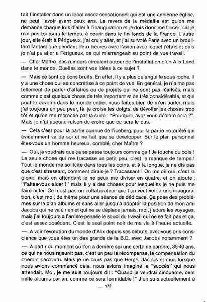 Interview, fanzines et articles divers sur Jacques Martin Bdsup210