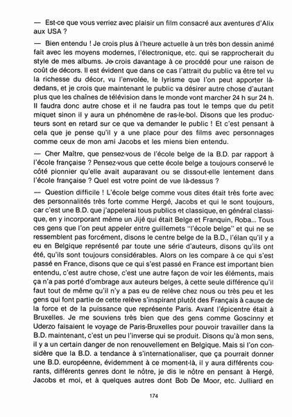 Interview, fanzines et articles divers sur Jacques Martin Bdsup410