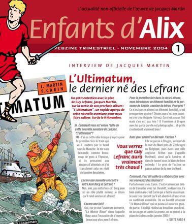 ENFANTS D'ALIX : le webzine Eda-110