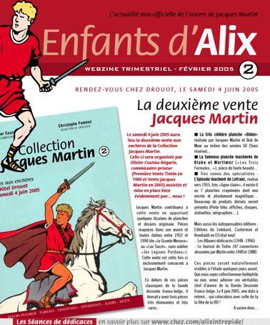 ENFANTS D'ALIX : le webzine Eda-210
