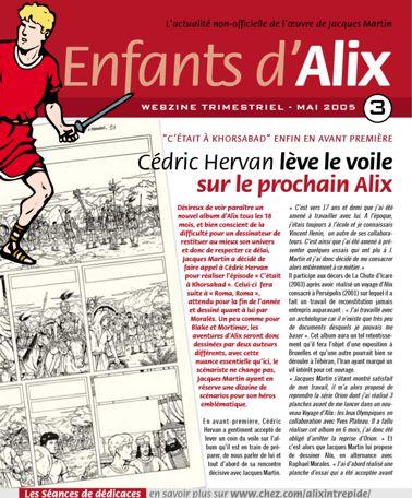 ENFANTS D'ALIX : le webzine Eda-310