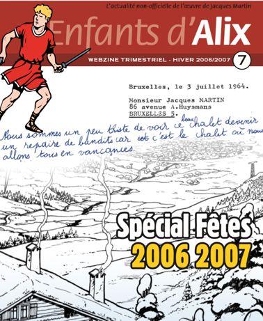 ENFANTS D'ALIX : le webzine Eda-710