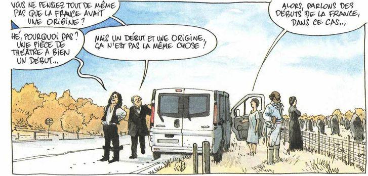 L'histoire de France en bandes dessinées Hist-f13