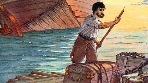 ملخص لقصة Robinson crusoe By/ Daniel Defoe بالعربي P01l4l10