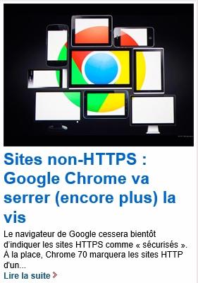 Sites non-HTTPS : Google Chrome va serrer (encore plus) la vis 2018-020