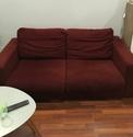 a vendre canapés en velours et une table en verre fumée Img_8310