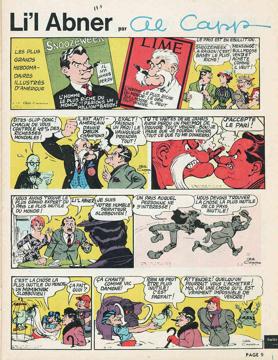 Un maître de la parodie : Al Capp - Page 7 Abners11