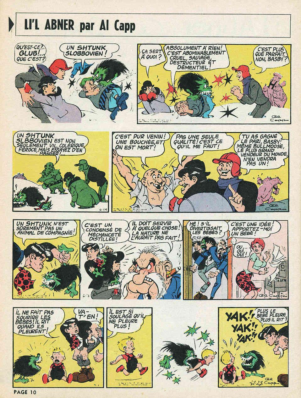 Un maître de la parodie : Al Capp - Page 7 Abners12