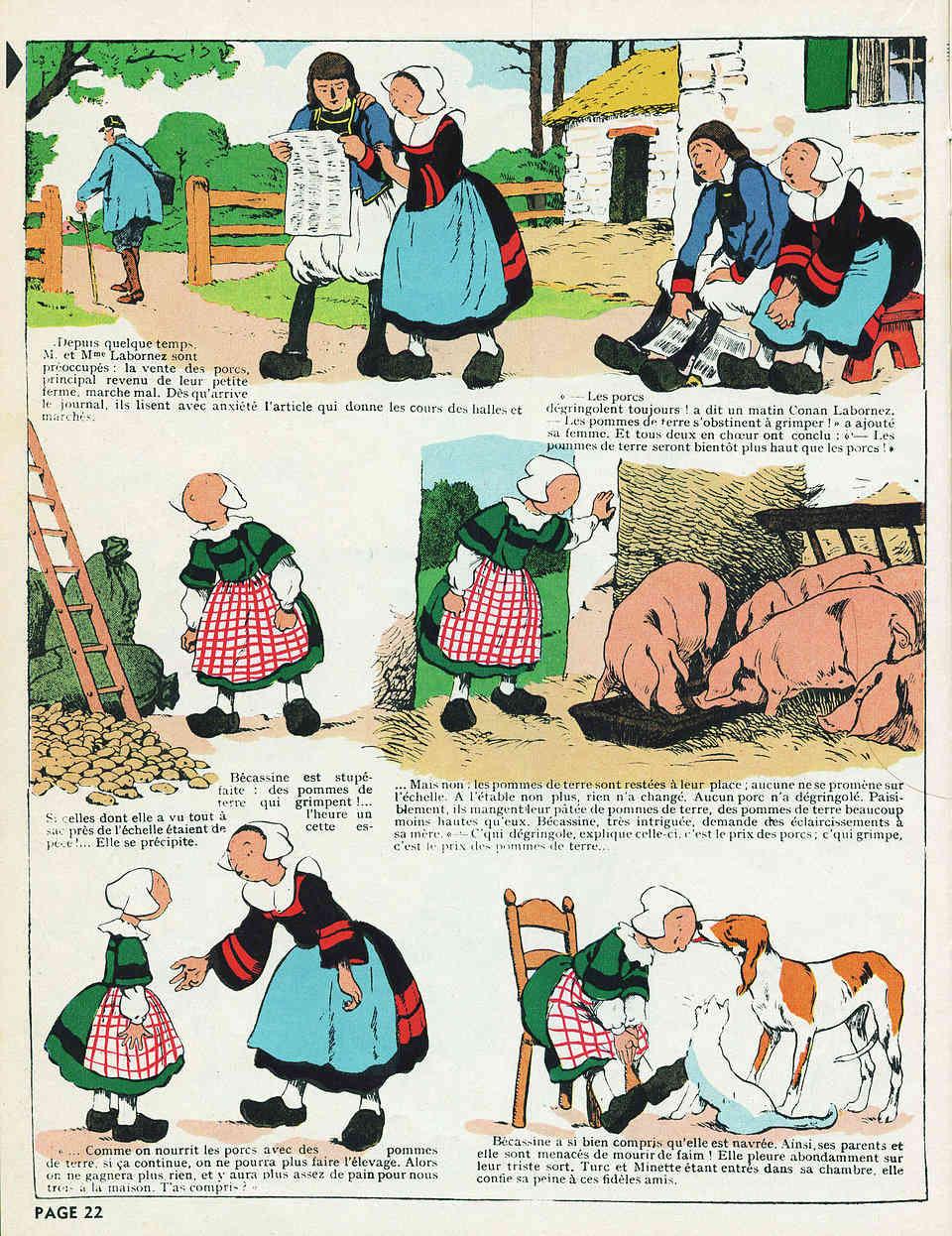 Pinchon ... Joseph-Porphyre de son prénom - Page 5 Becass12