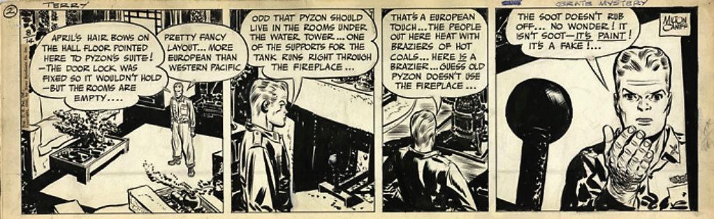Terry et les pirates de Milton CANIFF - Page 7 Caniff13