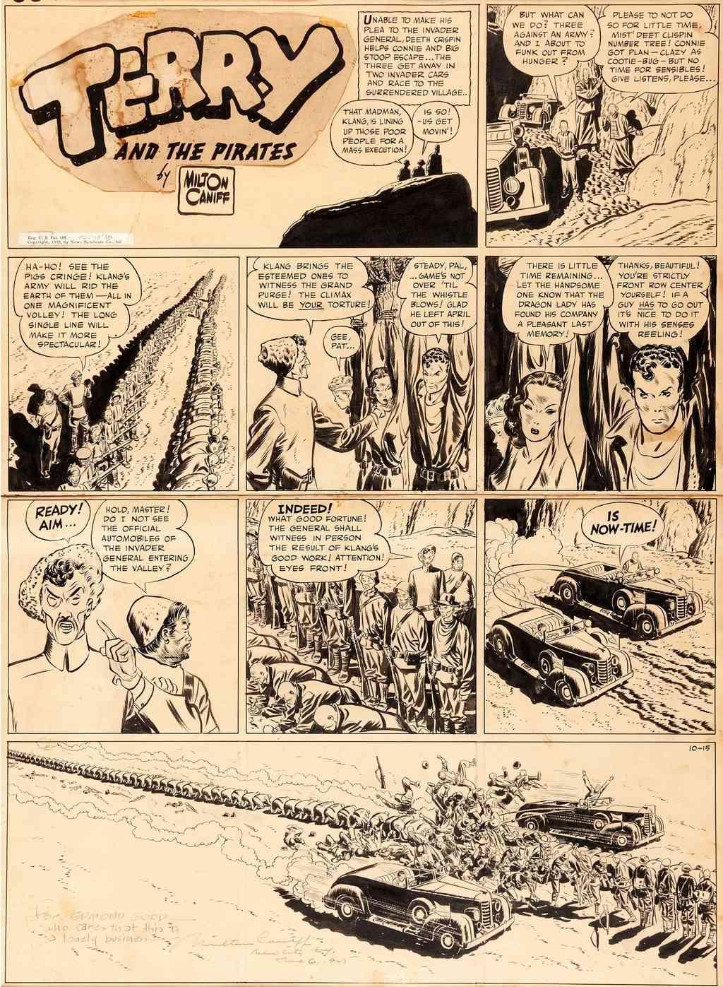 Terry et les pirates de Milton CANIFF - Page 7 Caniff21