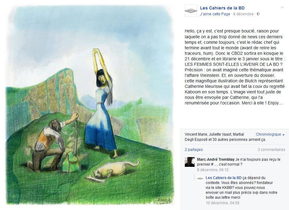 Les nouveaux CAHIERS DE LA BD - Page 2 Cbd211