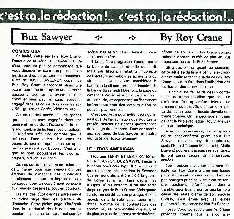 Wash Tubbs, Buz Sawyer par Roy Crane - Page 3 Cranes10