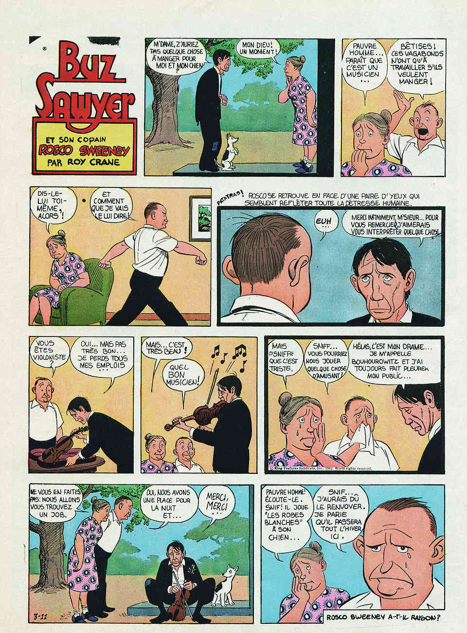 Wash Tubbs, Buz Sawyer par Roy Crane - Page 3 Cranes12